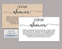 Display Shower Etsy