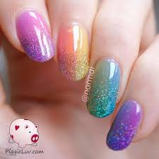 d2a08c1d ff01c9d1db8056ff rainbow nail art rainbow colored nails