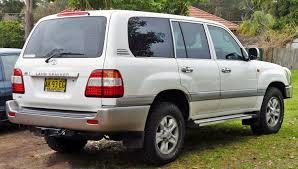 File:2006-2007 Toyota Land Cruiser (UZJ100R) Sahara 03.jpg ...