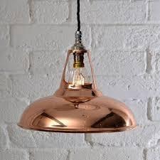 copper lighting fixture. coolicon industrial copper pendant light lighting fixture