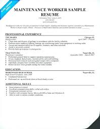 Warehouse Worker Resume Impressive Sample Resumes For Warehouse Jobs Nmdnconference Example