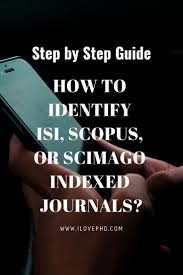 Scopus Sci Sci E Or Esci But Identifying A Targeted Journal With