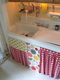 33 best kitchen sink skirt images