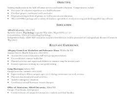 Psychology Sample Resumes Fresh School Psychology Resume Sample Or Psychology Resume