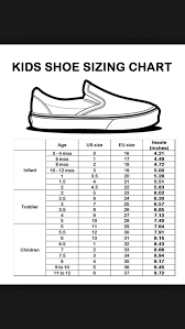 Kids Shoe Size Chart Shoe Size Chart Kids Baby Shoe Sizes