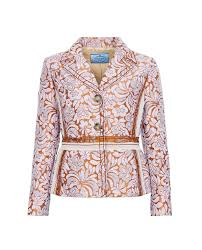 Prada Clothing Size Chart Prada Brocade Jacket