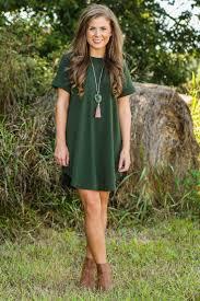 Green T Shirt Dress Outfit Impressmode Com