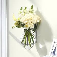 wall vases for flowers hanging wall vase glass pocket wall sconce vases for flowers wall vases for flowers