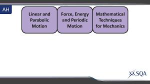 2 advanced higher mechanics