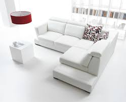 modern white living room furniture. Fine Living View In Gallery All White Living Room With Pop Of Color 12 Lovely White  Living Room Furniture Ideas Intended Modern