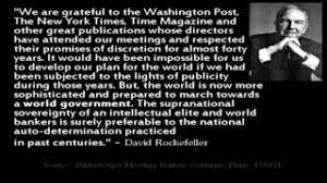 Rockefeller - New World Order Quotes - YouTube via Relatably.com