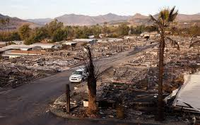 Image result for thomas fire devastation