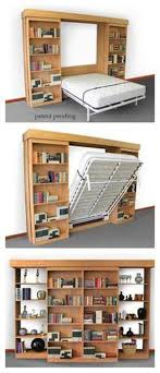 bookcase murphy bed plans sliding bookshelves reveal fold down bed