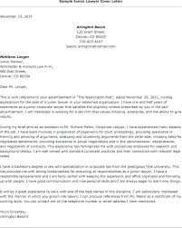 Sample Law School Cover Letter Sarahepps Com