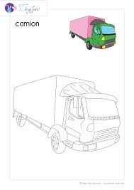 Coloriage Transport Dessin Camion Activit Es Pinterest