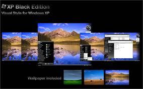 windows theme free windows xp black edition themes free download crisevu