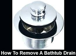 how to clean hair out of bathtub drain how to clean hair out of bathtub drain