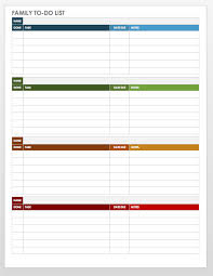 Task Management Spreadsheet Template Free Task And Checklist Templates Smartsheet