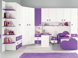 Habitaciones Infantiles Para Niñas Color Purpura Blanco