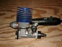 Used <b>RC SH ENGINES</b> PT21-P3 NITRO MOTOR with header ...