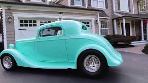 SOLD---1934 Chevy 3 Window Coupe For Sale~355 Bow Tie Small Block ...