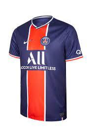 NIKE NIKE เสื้อแข่งผู้ชายทีมปารีส แซ็ง-แฌร์แม็ง ชุดเหย้า ฤดูกาล 2020/21