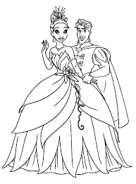 princess in the frog coloring pages princess frog coloring pages