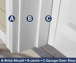 garage door stop moldingBrickmold Door Jamb  sc1th181