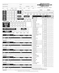 dungeons and dragons character sheet online blank dnd character sheet pg1 by seraph colak on deviantart