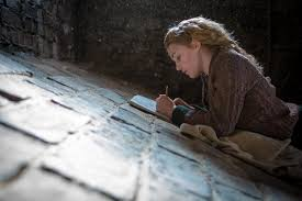 on peace and happiness inspiration from the book thief corimus  sophie nelisse as the book thief