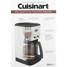 Industrial Coffee Makers Cuisinart Brew Central 12 Cup Programmable Coffeemaker 10 Ct
