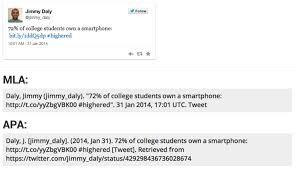 How To Cite How To Cite Tweets In An Academic Paper Edtech Magazine
