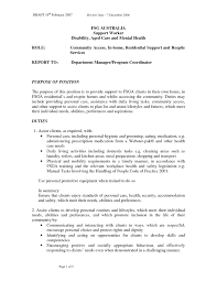 Sample Resume For Aged Care Worker Collection Of Solutions Resume For Aged Care Worker In Shalomhouseus 4