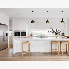 Loving this fresh and funky kitchen design from @cartergrangehomes which  features our trendy Vivid Slimline Oval Sink Mixer in classic Chrome! Lov