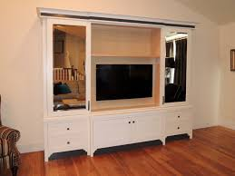 Sliding Door Dvd Cabinet Tv Media Cabinetry Unique Design Cabinet Co