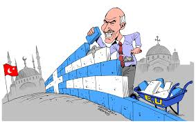 greece to build wall on turkish border build wall