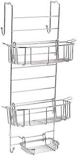 Amazon.com: Zenna Home 7803SS, Over-the-Shower Door Caddy, Chrome: \u0026 Kitchen Chrome