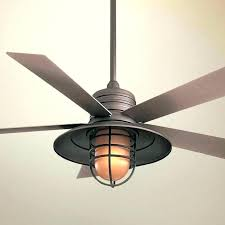 flush mount caged ceiling fan. Flush Mount Caged Ceiling Fan Industrial Cage N