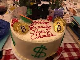 The Las Vegas Bitcoin Birthday Cake Steemit