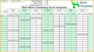 Shift Planner Excel Free Work Schedules Template Calendar Schedule