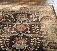 impressing pottery barn rugs 8x10 of brandon rug look 4 less