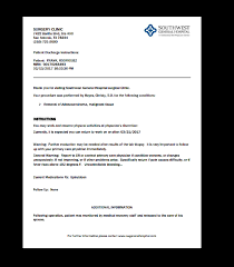 Fake Discharge Papers Best Of Urgent Care Doctors Note Template The