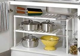 space saving kitchen sink kitchen organizer under sink shelf storage unit space
