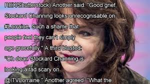 Grease fans shocked by stockard channing\u0027s face as actress appears ...
