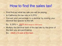 Solving Problems Involving Discounts At Sales And Sales Tax