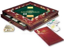 Wooden Monopoly Board Game World of Monopoly 88