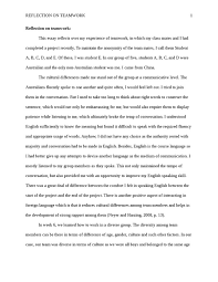reflective essay working in a group matt hart using quotations  resume writing dubai spatial order essay