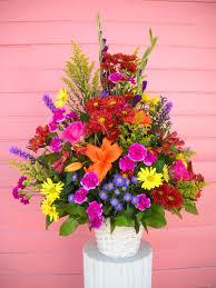 Basket Flower Decoration Sympathy Funeral