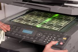 © Stock Photo Machine Money 5133675 — On Copy Office In Svyatoslavlipik Fake