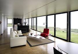 Interior Design Large Living Room Modern Interior Glass Window Design Ideas Large Living Rooms
